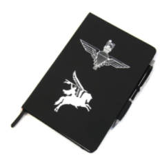 A5 Notebook with Pen - Para & Pegasus
