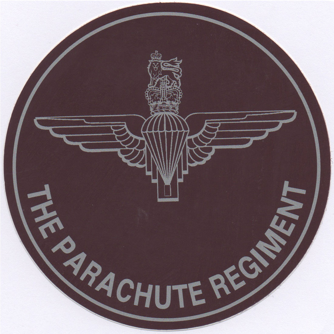 Parachute Regiment Exterior Car Sticker