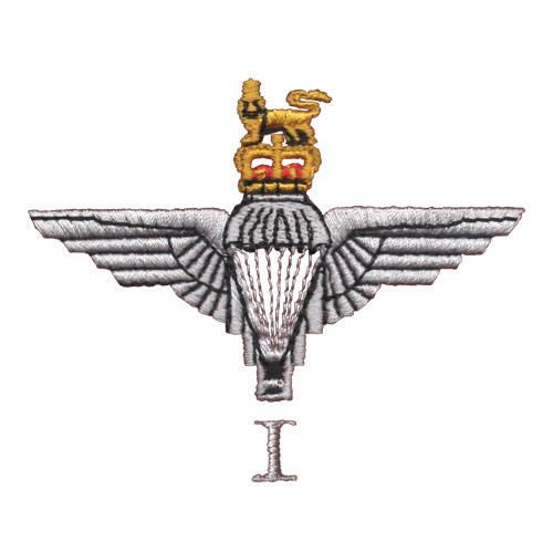 1 Para Cap-Badge