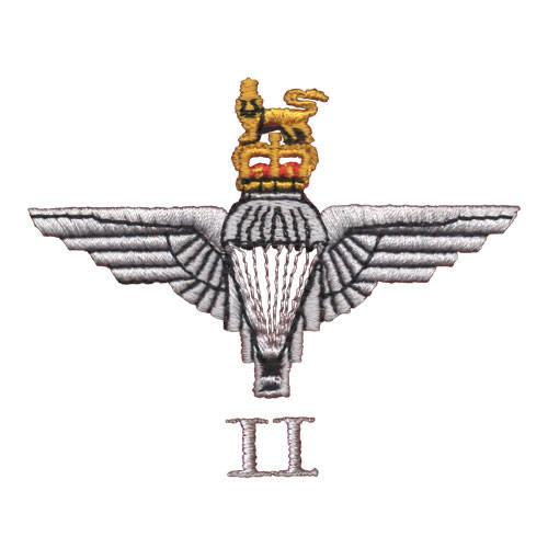 2 Para Cap-Badge