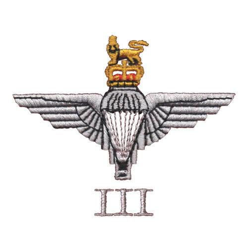 3 Para Cap-Badge