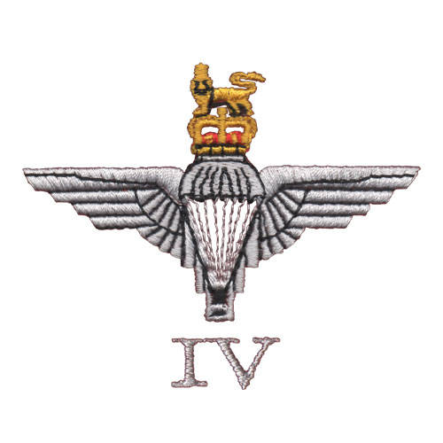 4 Para Cap-Badge