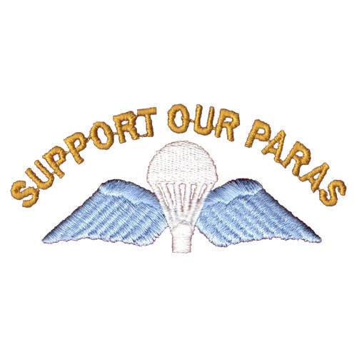 Support Our Paras (Jump Wings)