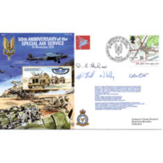 Pilot Signed Philatelic Commemorative Covers (First Day Covers)