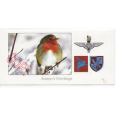 Christmas Card - Festive Scene (Parachute Regiment and Airborne Forces)