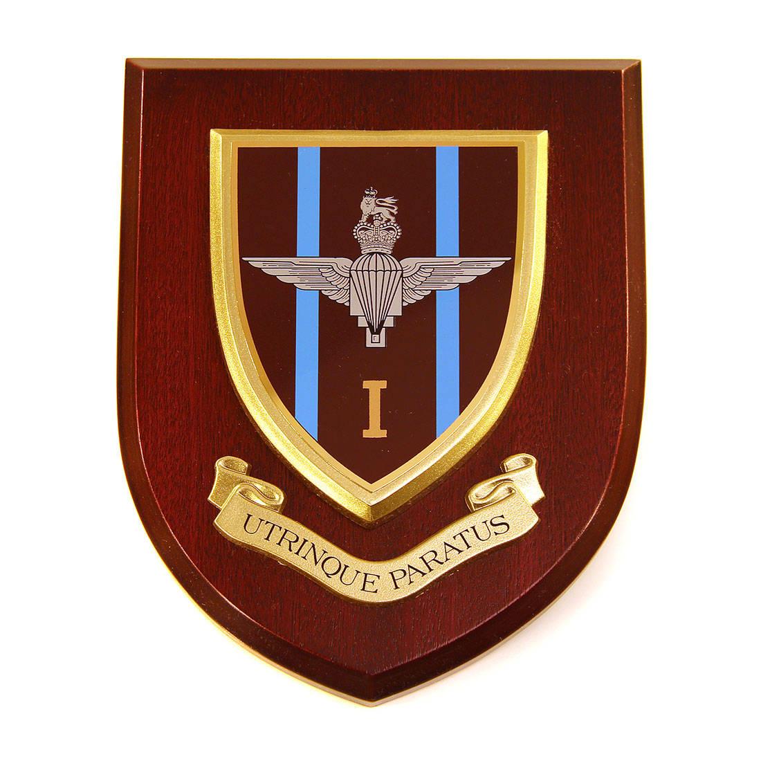 Plaque - 1st Battalion Para