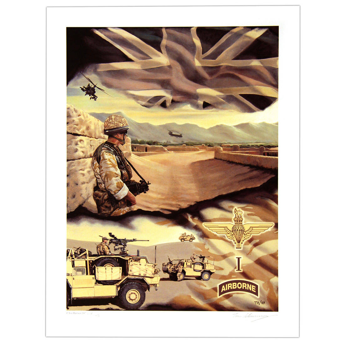 1 Para (SFSG), Afghanistan by Tom Harrison (Print)