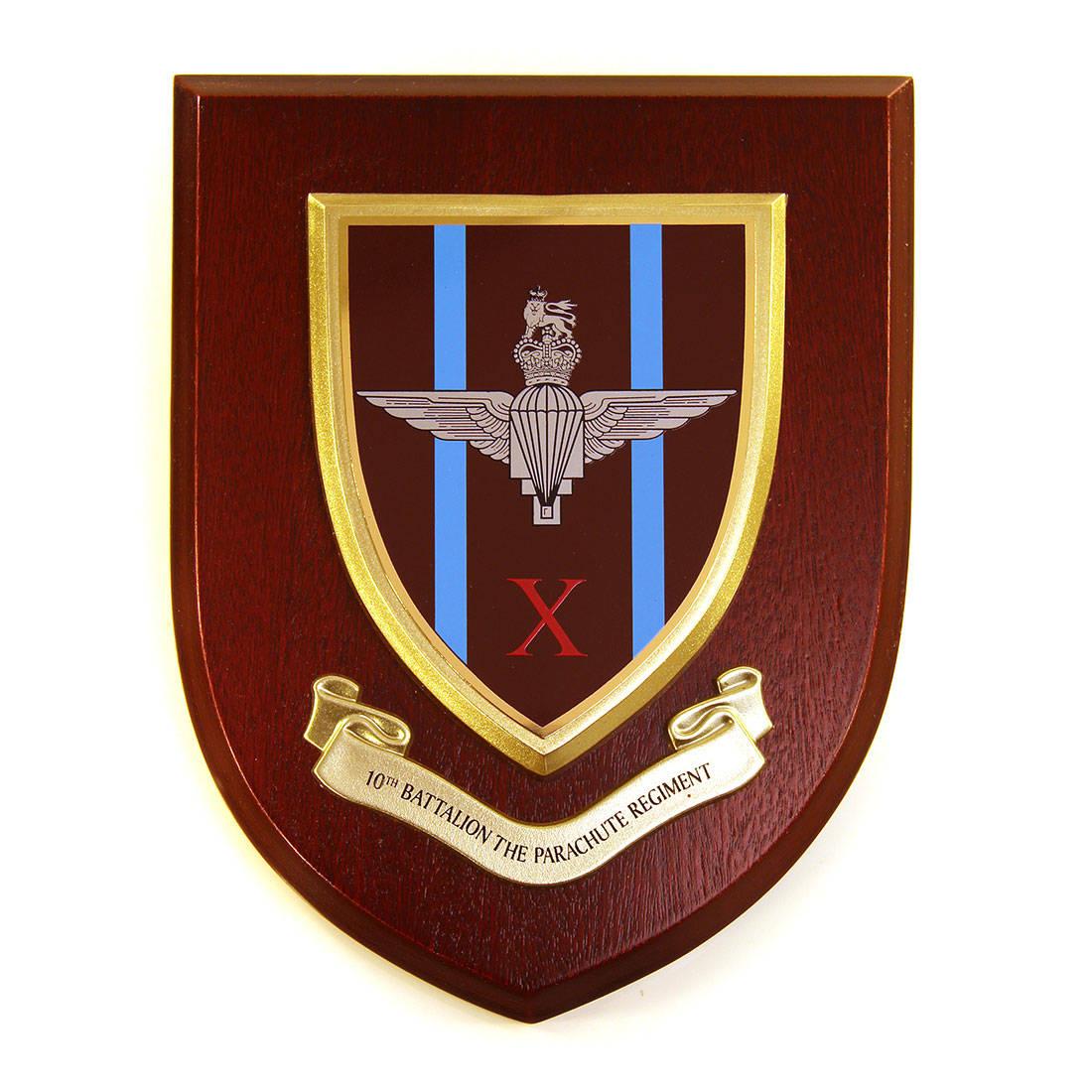 Plaque - 10th Battalion Para
