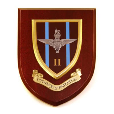 Plaque - 2nd Battalion Para
