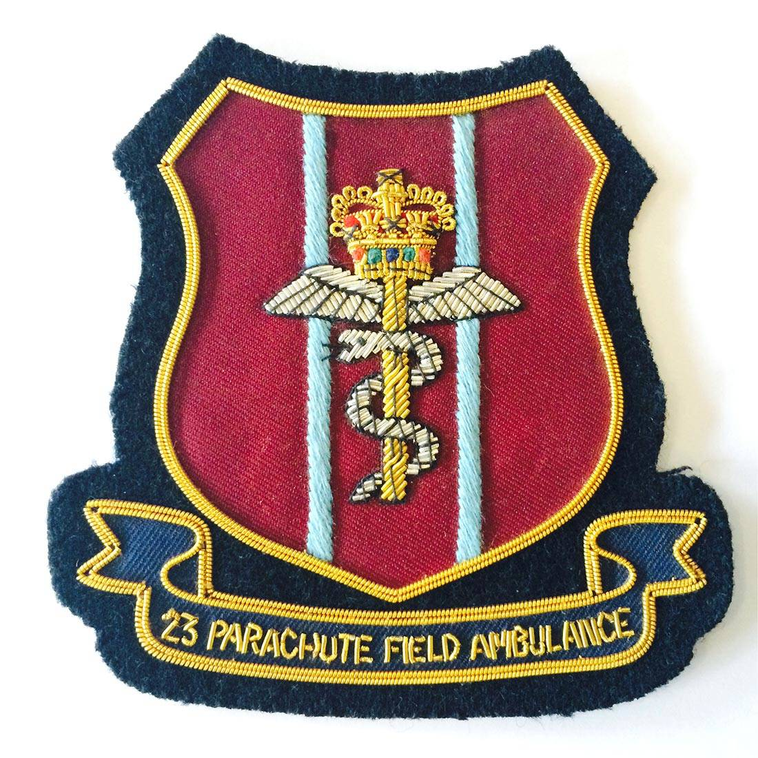 23 Pfa Blazer Badge - The Airborne Shop