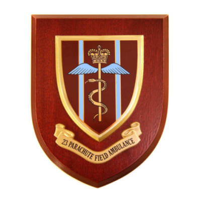 Plaque - 23rd Parachute Field Ambulance