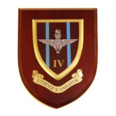 Plaque - 4th Battalion Para