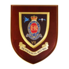 Plaque - 7th Royal Horse Artillery. RHA