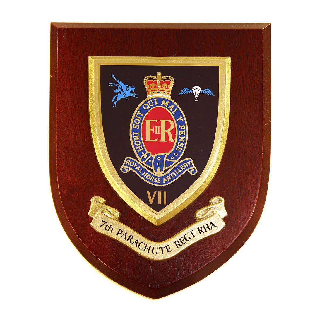 Plaque - 7th Royal Horse Artillery. RHA