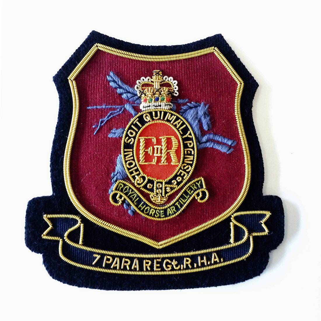 7 RHA Blazer Badge