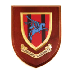 Plaque - 9 Sqn. Royal Engineers