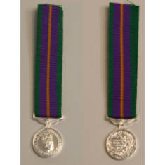 Accumulated Campaign Service 1994 Miniature Medal