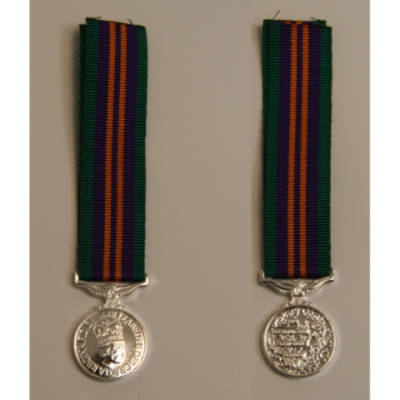 Accumulated Campaign Service 2011 Miniature Medal
