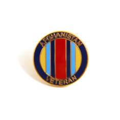 Afghanistan Veteran Lapel Badge