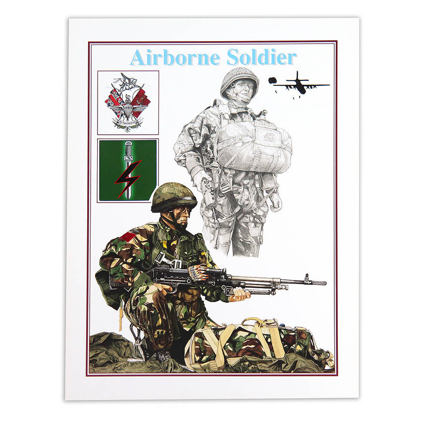 Airborne I Para by Craig Johnson (Print)