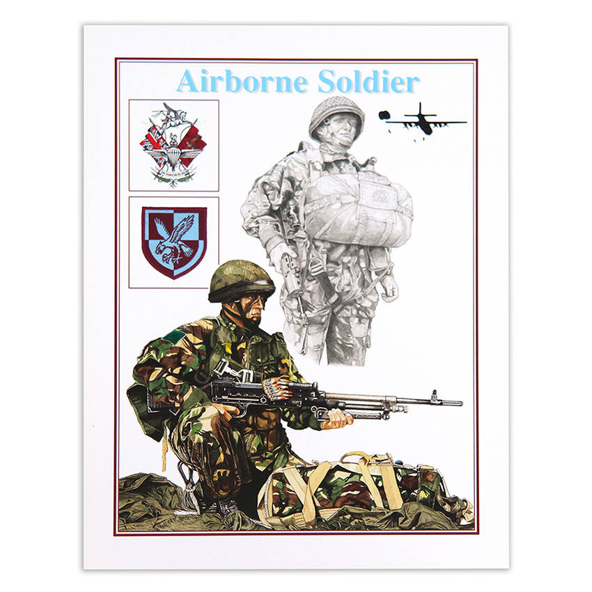 Airborne III Para by Craig Johnson (Print)