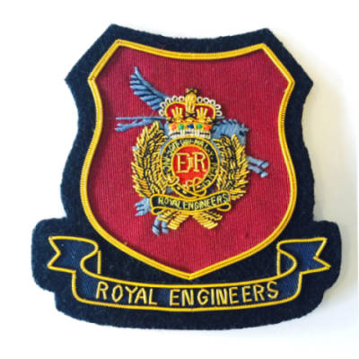 Airborne Engineers Blazer Badge