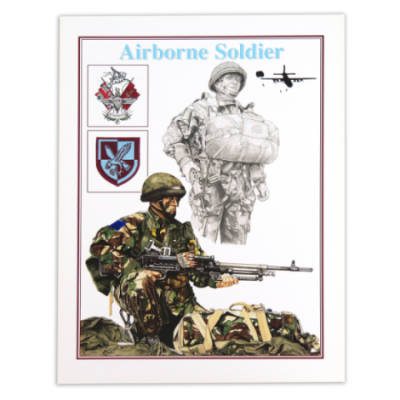 Airborne II Para by Craig Johnson (Print)