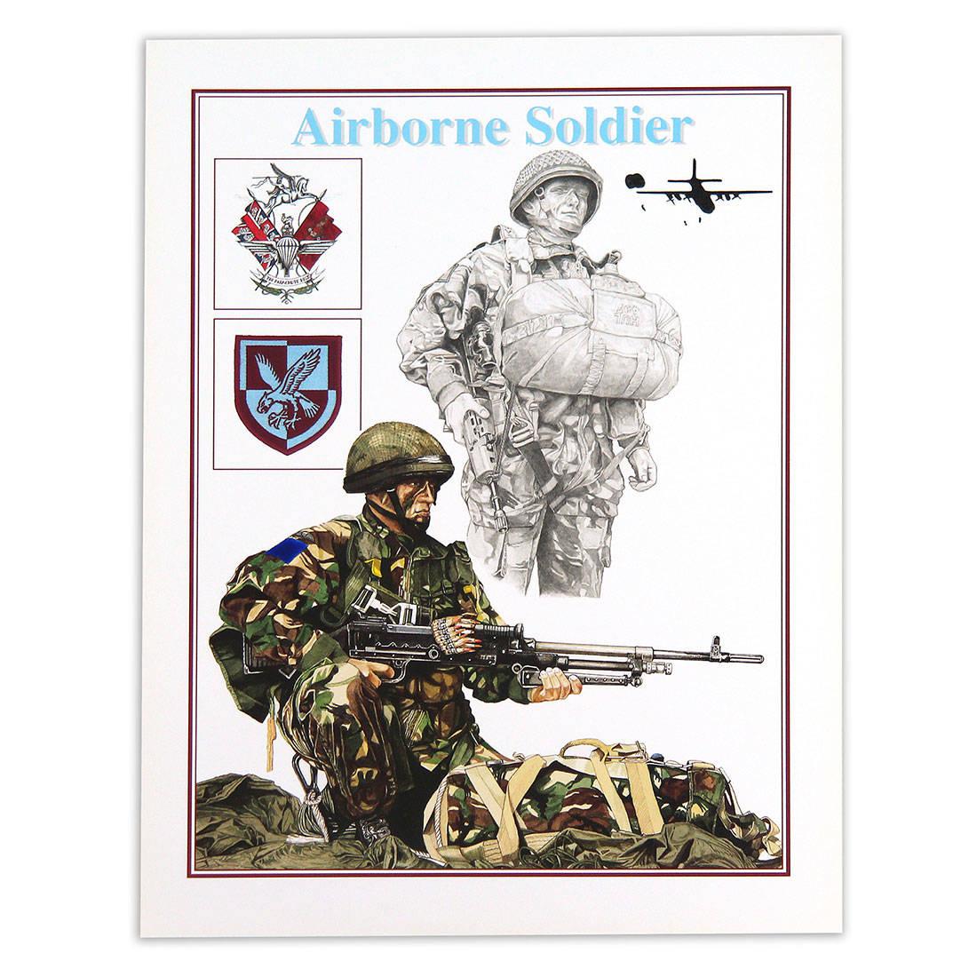 Airborne II Para by Craig Johnson (Print)