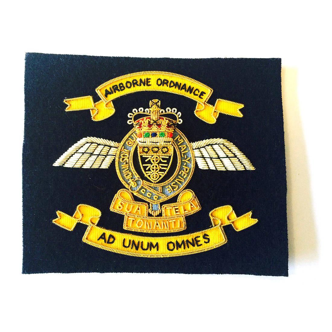 Airborne Ordnance Blazer Badge