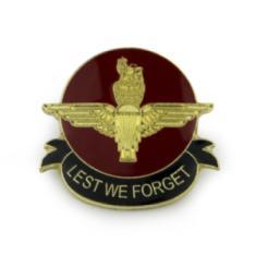 Airborne Remembrance Lapel Badge - Parachute Regiment