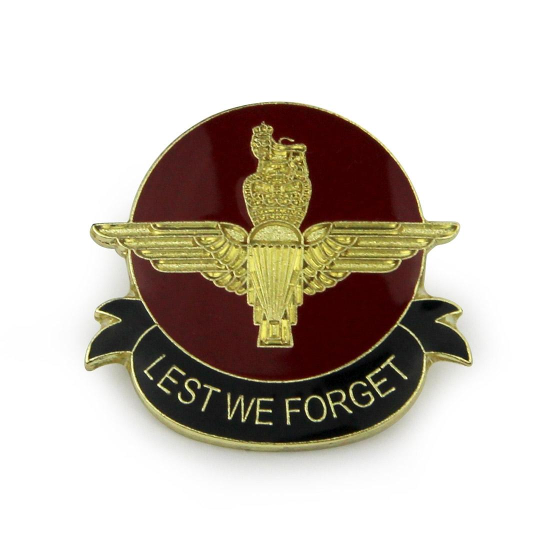 Airborne Remembrance Lapel Badge - Parachute Regiment