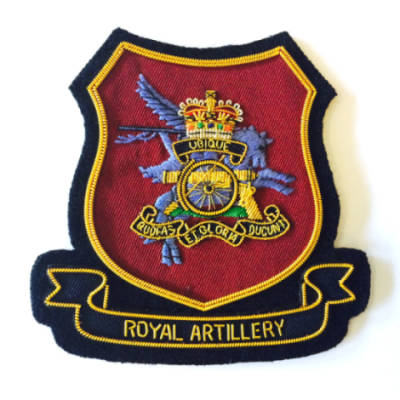 Airborne Royal Artillery Blazer Badge