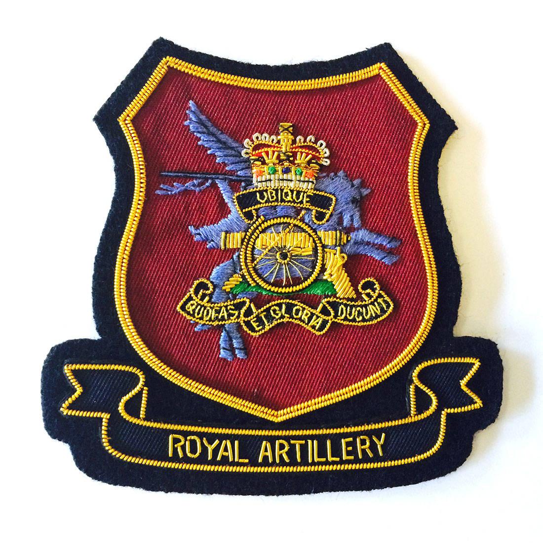 Airborne Royal Artillery Blazer Badge