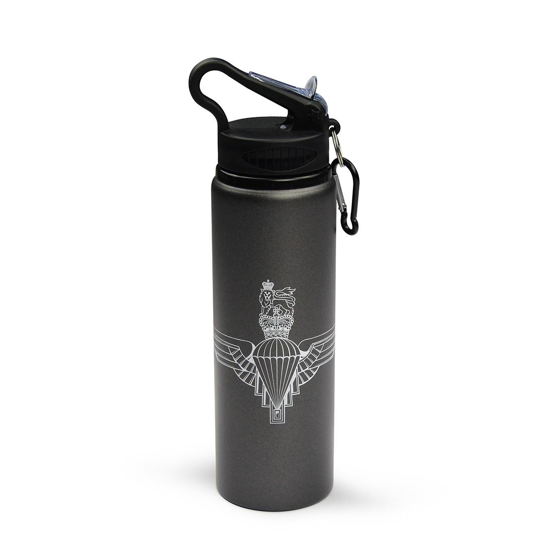 Aluminium Drinks Bottle (800ml) - Parachute Regiment