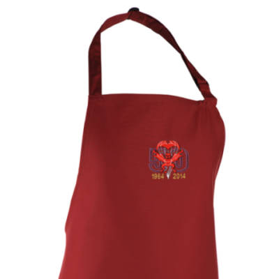 Apron - Maroon - Red Devils 50th