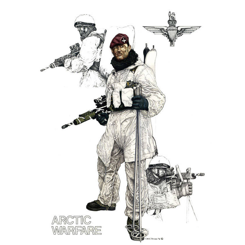 Arctic Warfare Para by Craig Johnson (Print)
