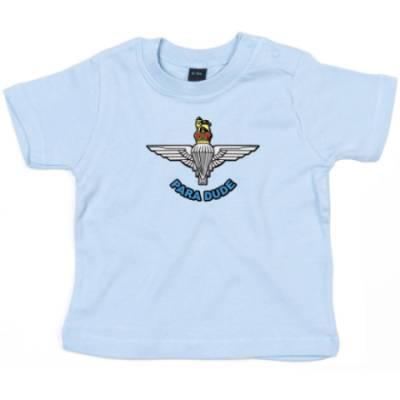Baby T-Shirt - Blue - Para Dude