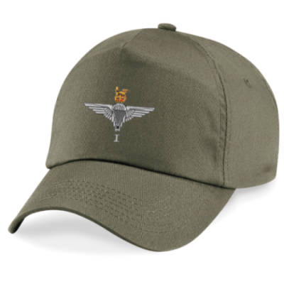 Baseball Cap - Olive Green - 1 Para Cap-Badge