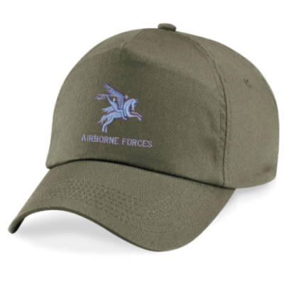 Baseball Cap - Olive Green - Pegasus Airborne Forces