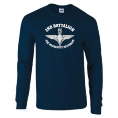 Long Sleeved T-Shirt - Battalion Print (1, 2, 3 or 4 Para)