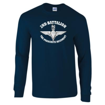 Long Sleeved T-Shirt - Battalion Print  - 2 Para