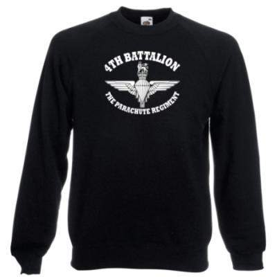 Sweatshirt - Battalion Print - 4 Para