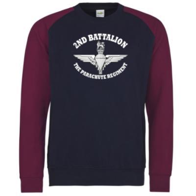 Two-Tone Sweatshirt - Battalion Print - 2 Para