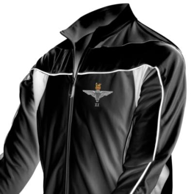 *CLEARANCE* Long Sleeved Performance Bike Top, XL, Black, 2 Para Cap-Badge