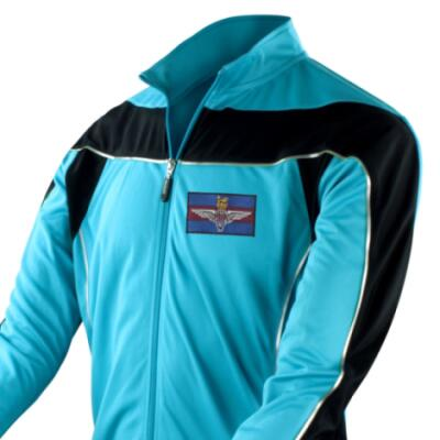 *CLEARANCE* Long Sleeved Performance Bike Top, Medium, Blue, Para Guards