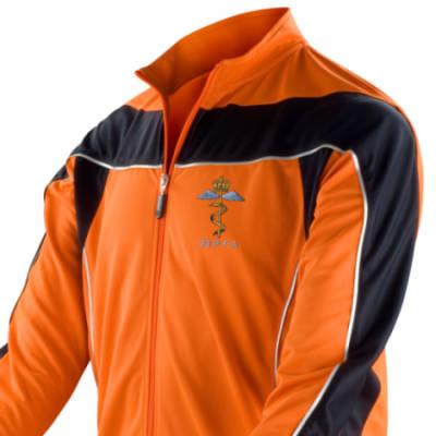 Long Sleeved Performance Bike Top - Orange - 23 PFA