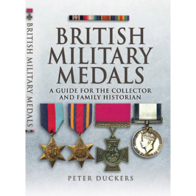 British Military Medals by Peter Duckers (Book)