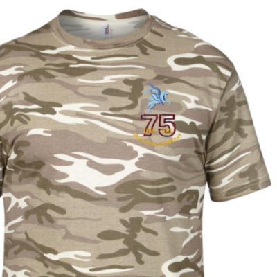 Camo T-Shirt - Sand MTP - Operation Doomsday 75th (Pegasus)