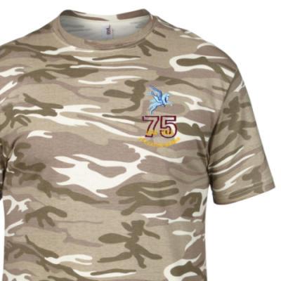 Camo T-Shirt - Sand MTP - Operation Manna 75th (Pegasus)
