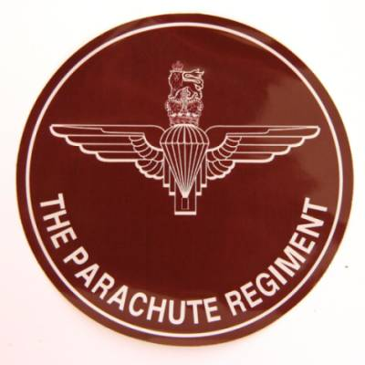 Car Sticker - Parachute Regiment or Pegasus